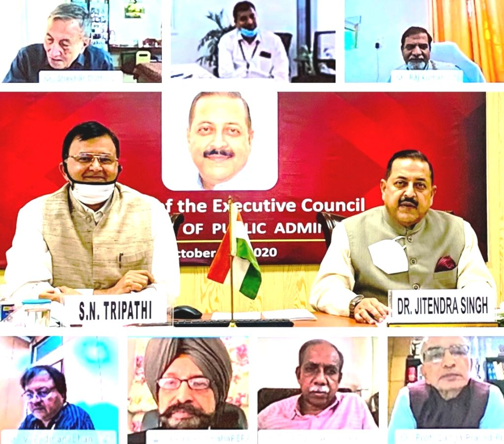 Union MoS Development of North Eastern Region (I/C), Prime Minister???s Office, Personnel, Public Grievances & Pensions, Atomic Energy and Space, Jitendra Singh presides over the 317th ... - Jitendra Singh
