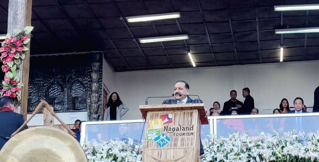 Union MoS Development of North Eastern Region (I/C), Prime Minister???s Office, Personnel, Public Grievances and Pensions, Atomic Energy and Space, Dr. Jitendra Singh addresses during the ... - Jitendra Singh