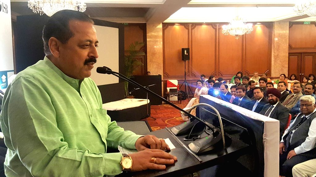Union MoS for PMO Dr. Jitendra Singh addresses at the Graduation Ceremony of Management Programme in Public Policy (MPPP), organised by the Indian School of Business (ISB), in New Delhi on ... - Jitendra Singh
