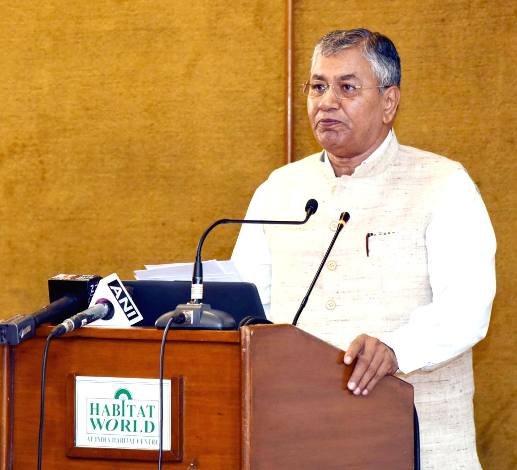Union MoS Law and Justice and Corporate Affairs P.P. Chaudhary addresses at the inauguration of a two-day conference on Insolvency and Bankruptcy Board of India (IBBI) and Indira Gandhi ... - P. Chaudhary and Indira Gandhi Institute