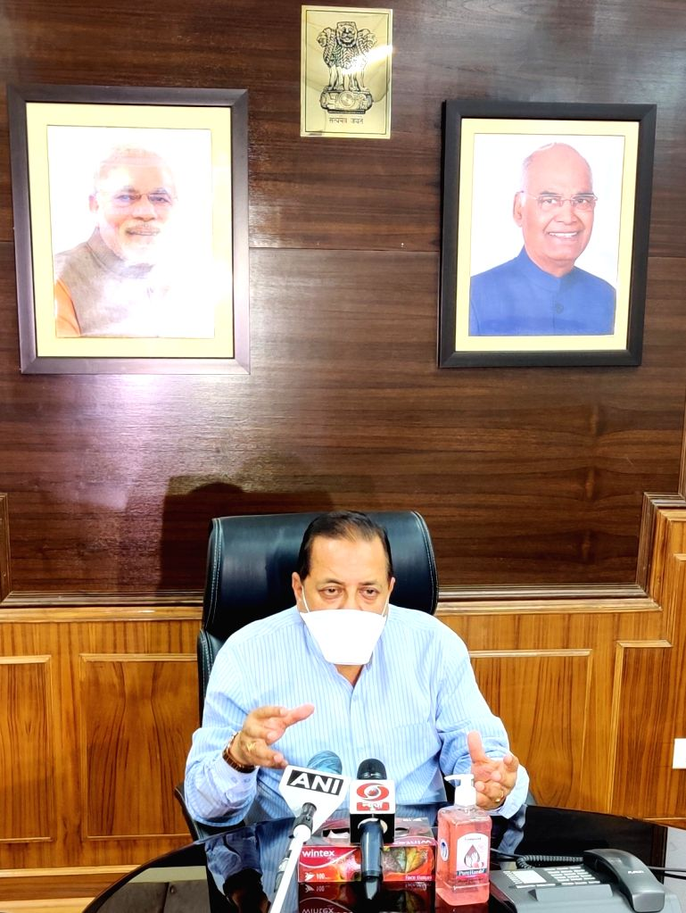 Union MoS North Eastern Region (I/C), Prime Minister???s Office, Personnel, Public Grievances & Pensions, Atomic Energy and Space Jitendra Singh briefs the media about the DoPT Online ... - Jitendra Singh