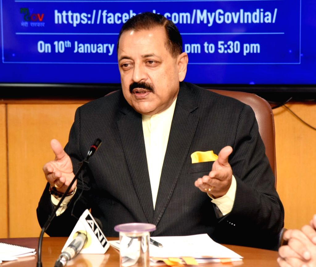 Union MoS North Eastern Region (I/C), Prime Minister???s Office, Personnel, Public Grievances & Pensions, Atomic Energy and Space Jitendra Singh addresses at a Facebook Live session on ... - Jitendra Singh