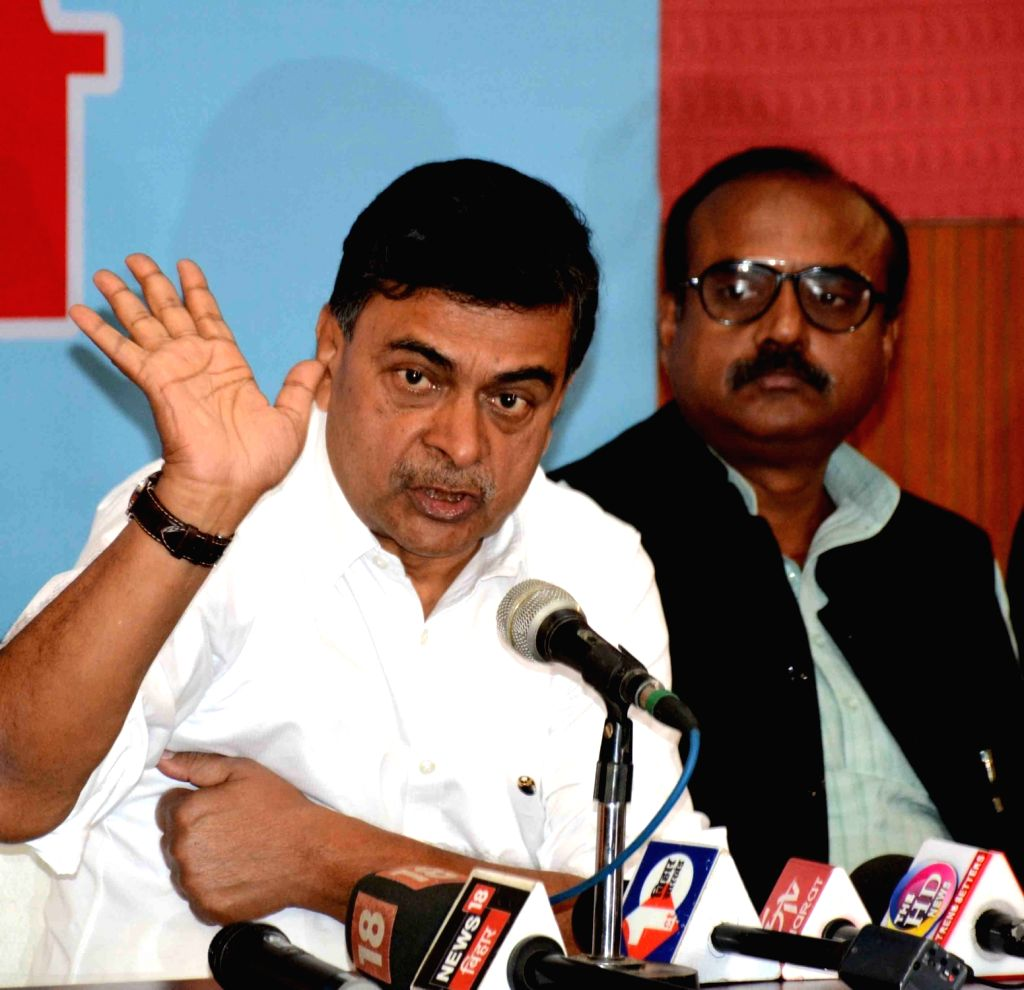 Union MoS Power and New and Renewable Energy RK Singh addresses at the inauguration of Powergrid Rest house at Indira Gandhi Institute of Medical Science (IGIMS) in Patna on Nov 16, 2019. - Indira Gandhi Institute