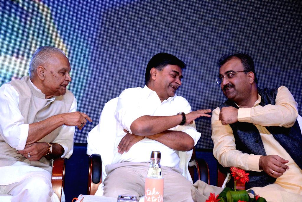 Union MoS Power and New and Renewable Energy RK Singh and Bihar Minister Mangal Pandey at the inauguration of Powergrid Rest house at Indira Gandhi Institute of Medical Science (IGIMS) in ... - Mangal Pandey and Indira Gandhi Institute