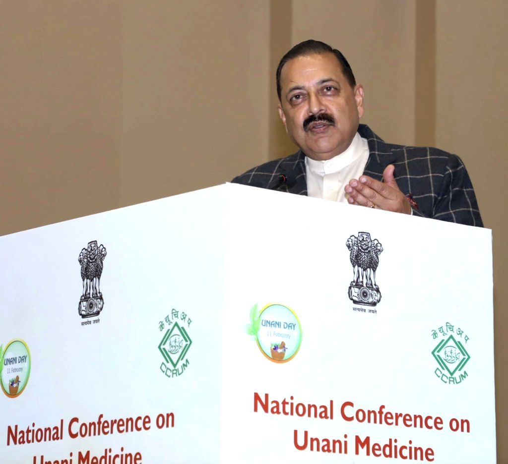 "Union MoS Prime Minister's Office Jitendra Singh addresses at the National Conference on Unani Medicine ""Unani Medicine for Public Health"" organised by the Central Council for ... - Jitendra Singh"