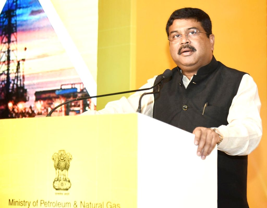 Union Petroleum and Natural Gas and Skill Development and Entrepreneurship Minister Dharmendra Pradhan addresses at the launch of the Bid Round II under Discovered Small Field Policy, in ... - Dharmendra Pradhan