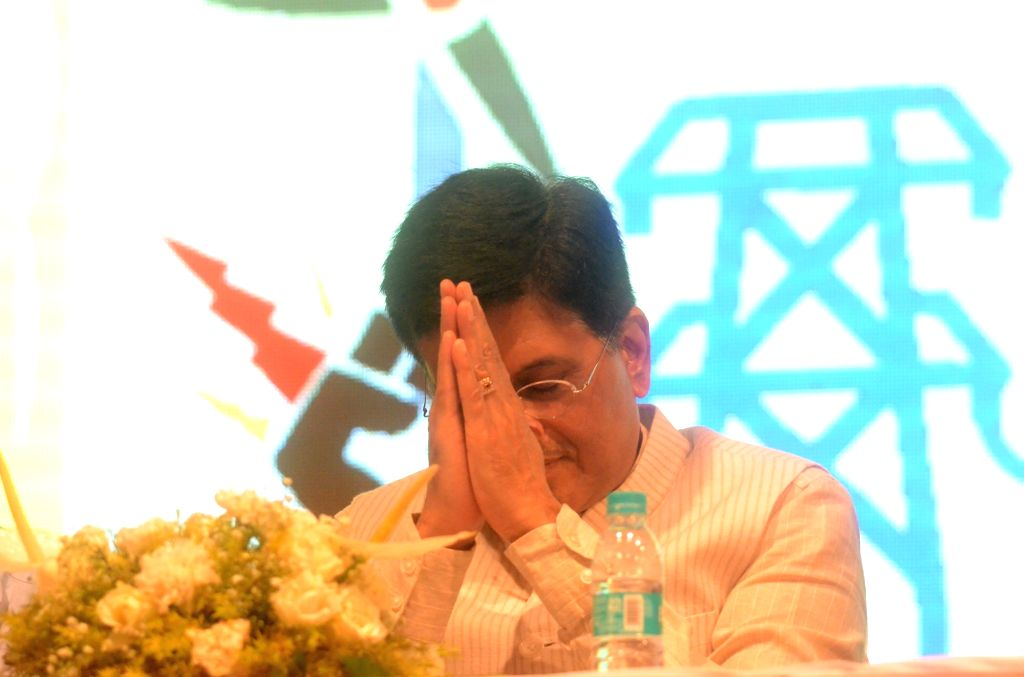 Union Power Minister Piyush Goyal during a seminar on Wide Entrepreneur Convention of Ministry of Micro, Small and Medium Enterprises (MSME) in Mumbai on Aug 12, 2017. - Piyush Goyal