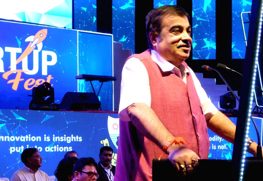 Union Road Transport and Highways and Micro, Small and Medium Enterprises Minister Nitin Gadkari addresses at the inaugural session of Start up fest organised by Nagpur Municipal Corporation ... - Nitin Gadkari