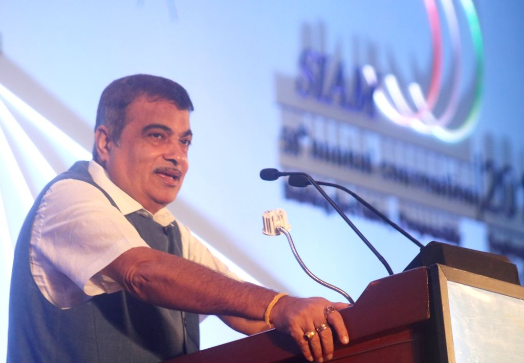 Union Road Transport and Highways Minister Nitin Gadkari addresses at the 59th SIAM annual convention ???Building the Nation, Responsibly ??? Moving into A New Era of Auto Industry??? in ... - Nitin Gadkari