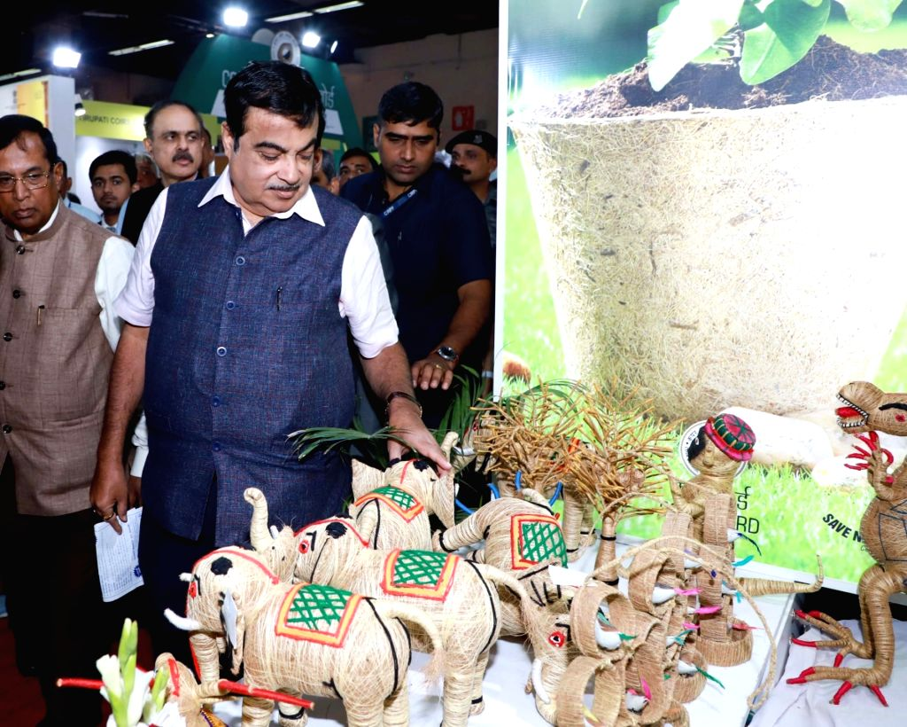 Union Road Transport & Highways and Micro, Small & Medium Enterprises Minister Nitin Gadkari at the inauguration of the 39th edition of the India International Trade Fair (IITF) at ... - Nitin Gadkari