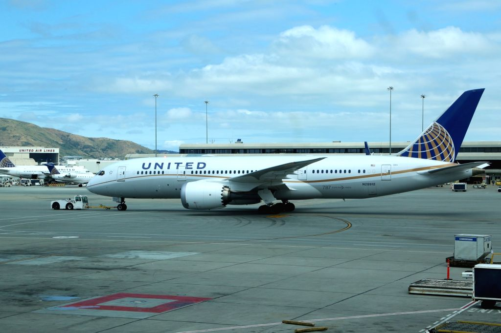 United Airlines. (File Photo: IANS)