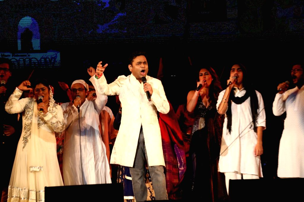 United Nations: A.R. Rahman performs at the Indian Independence Day concert organised at the United Nations on Aug. 15, 2016.