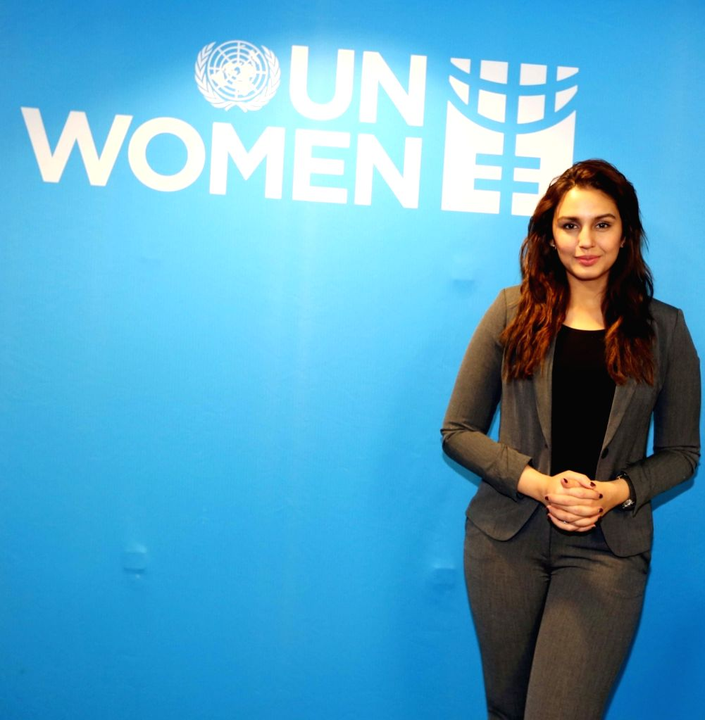 "United Nations: Actress Huma Qureshi at United Nations Headquarters where she talked about on ""Representation Of Women In Media"" on March 24, 2017. - Huma Qureshi"