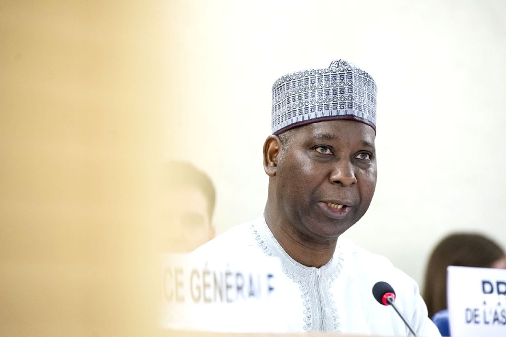 United Nations General Assembly President Tijjani Muhammad-Bande (Photo: UN/IANS)