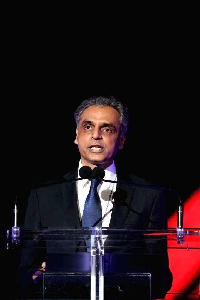United Nations:India's permanent representative to UN Syed Akbaruddin addresses at the United Nations on Aug. 15, 2016.