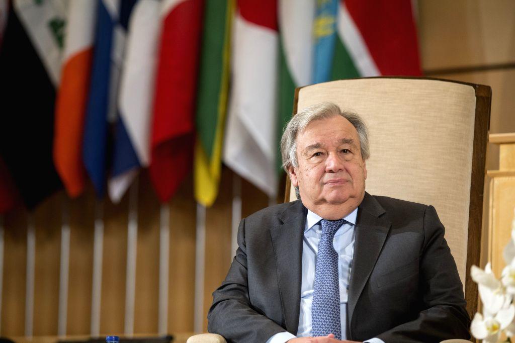 United Nations Secretary-General Antonio Guterres. (Xinhua/Xu Jinquan/IANS)