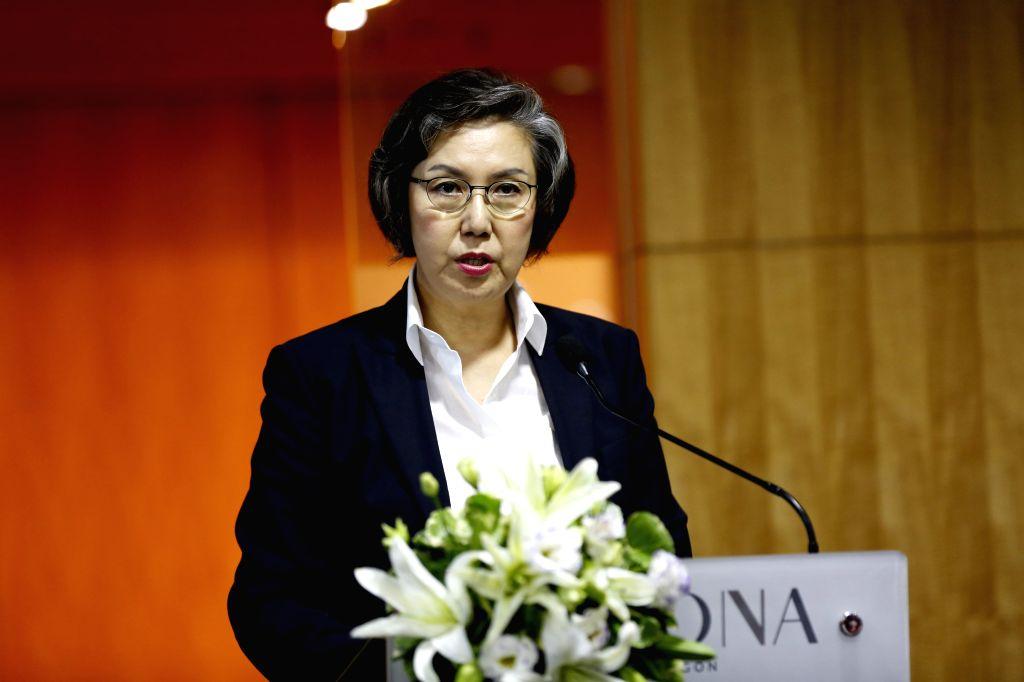 United Nations Special Rapporteur on human rights in Myanmar Yanghee Lee. (Xinhua/U Aung/IANS)
