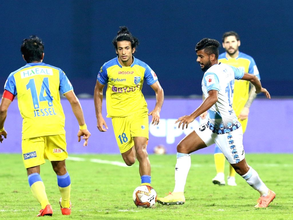 Unlucky Kerala share spoils with Jamshedpur, play out 0-0 draw. (credit : ISL)