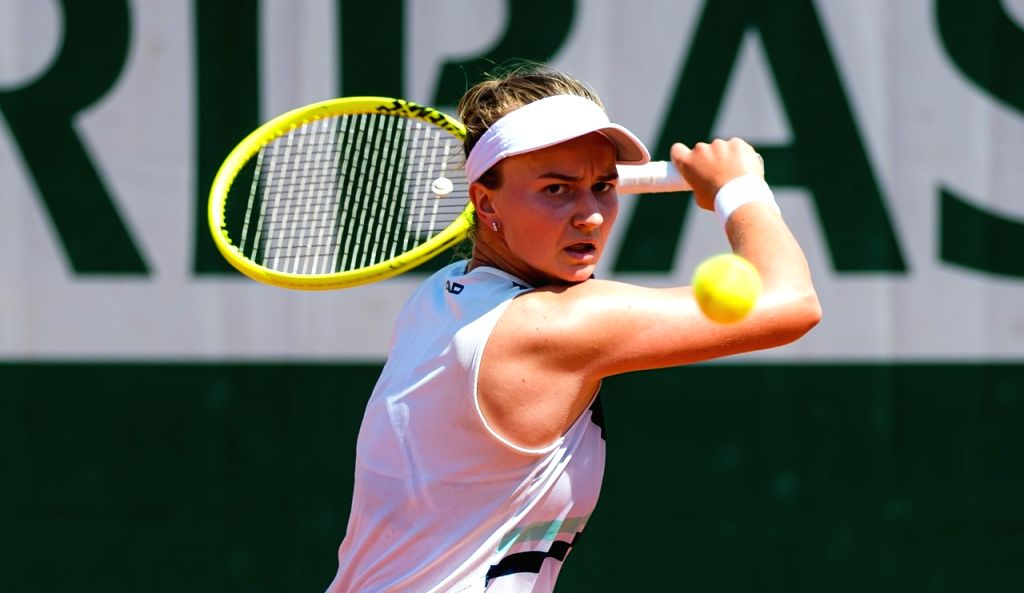 Unseeded Czech Barbora emerges French Open women's champion.