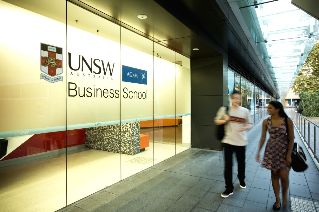 : UNSW Business School..