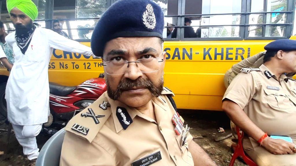 UP Police ADG assures strict action against Lakhimpur rioters .