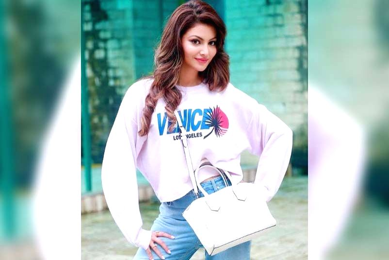 Urvashi Rautela shares why her boyfriend 'does not exist'.