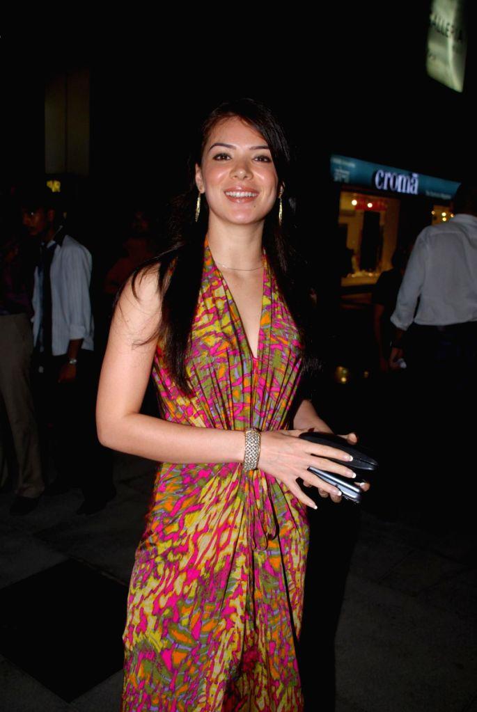 "Urvashi Sharma at special screening of movie ""99"" at PVR. - Urvashi Sharma"