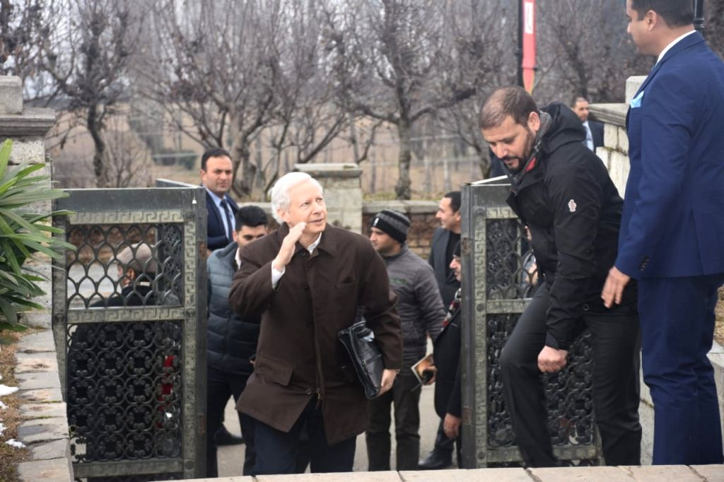 US ambassador Kenneth I. Juster, who is a part of the delegation of foreign envoys who are on a visit to Srinagar to take stock of the ground situation in the Kashmir Valley, arrives in ...