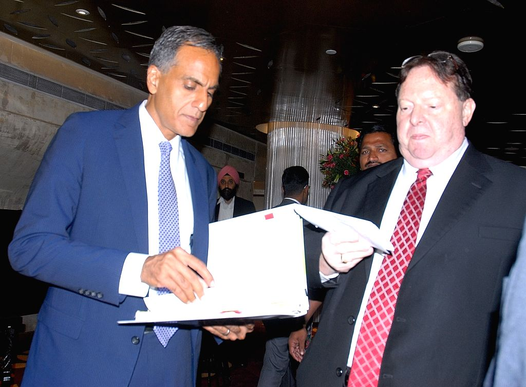 "US Ambassador to India Richard Verma during a conference on ""The Future is Now: India"" in Hyderabad, on June 24, 2016. - Richard Verma"