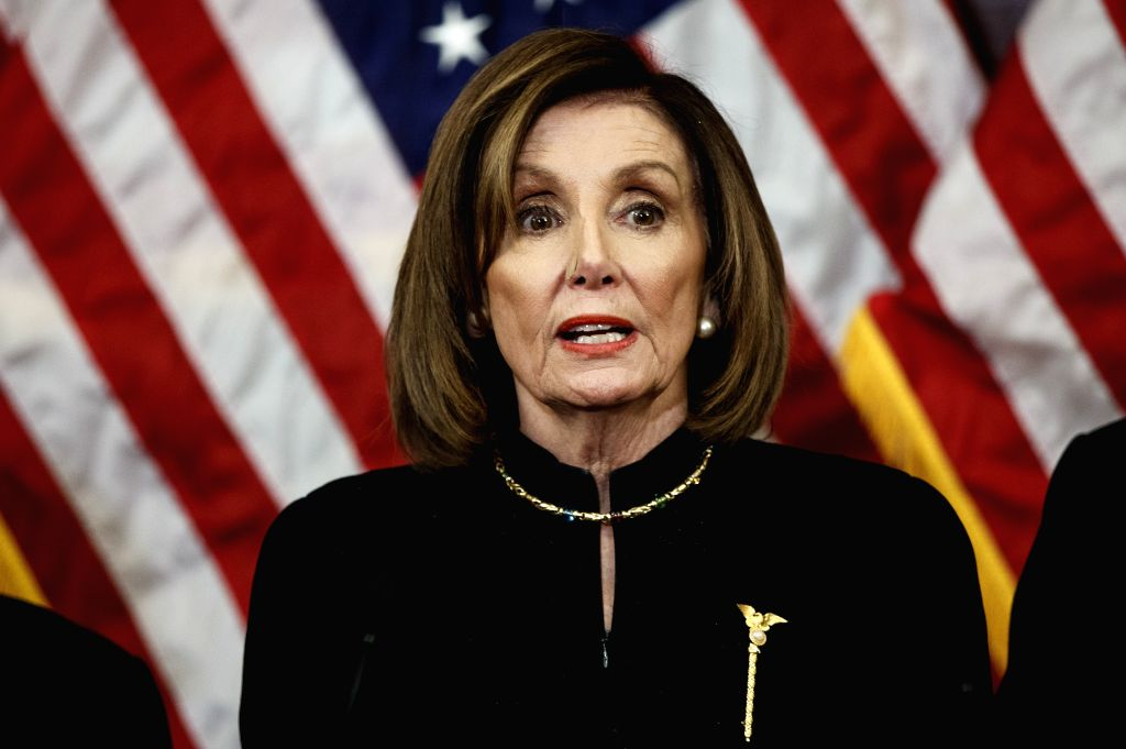 US House Speaker Nancy Pelosi said that two articles of impeachment against President Donald Trump would be sent to the Senate soon for a trial, signaling a possible end to a standoff with Republicans. - Nancy Pelosi