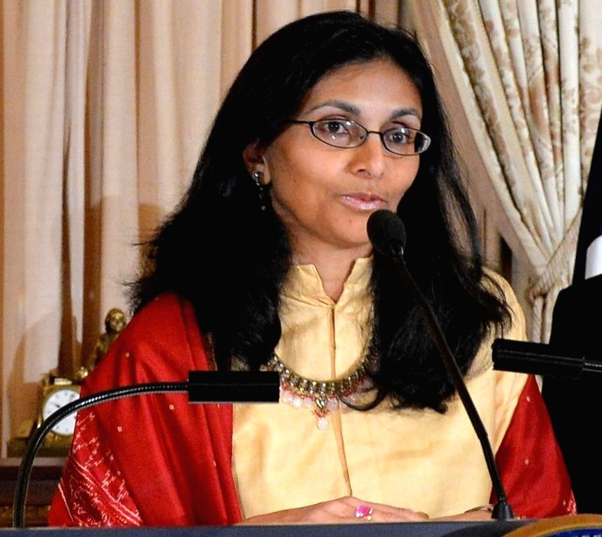 US-India Business Council President Nisha Biswal (File Photo: State Dept./IANS)