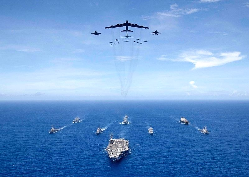 US Navy, IAF to carry out joint drill in Indian Ocean Region.