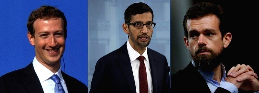 US panel set to grill Facebook, Google, Twitter CEOs.