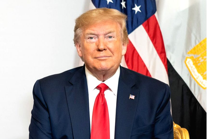 US President Donald Trump at the G7 Summit in Biarritz, France on Aug 26, 2019.