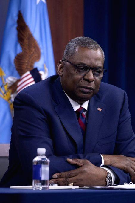US Secretary of Defence Lloyd Austin