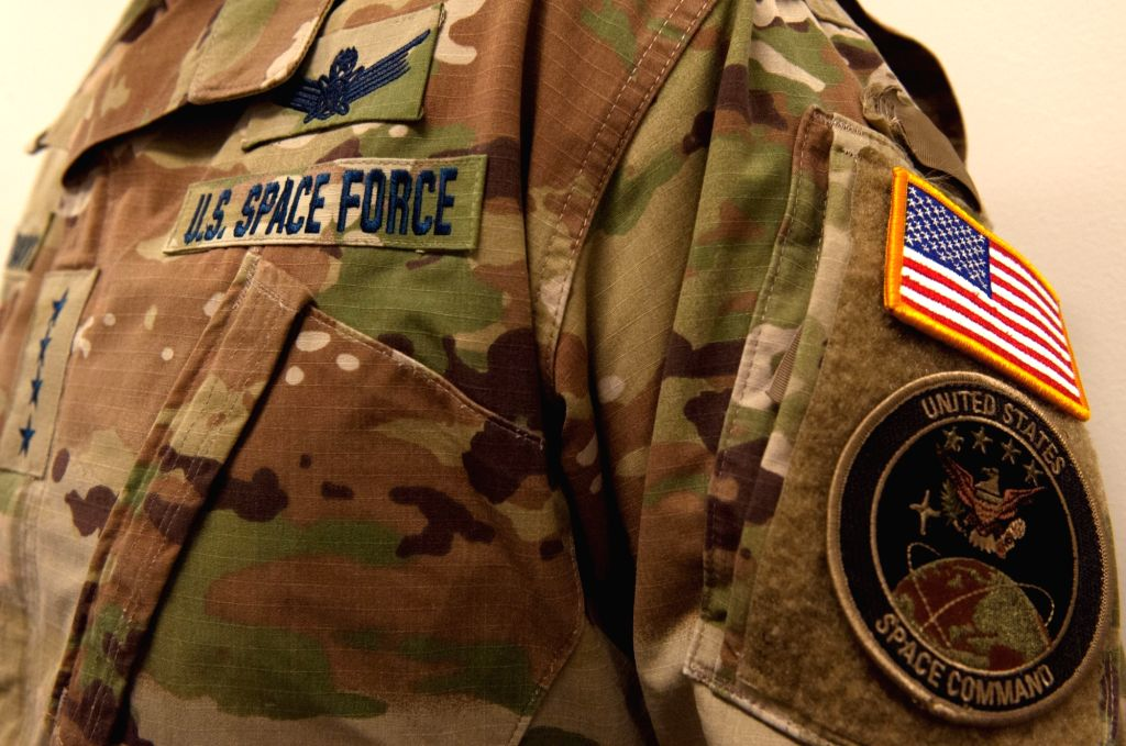 US Space Force mocked for camouflage uniforms.