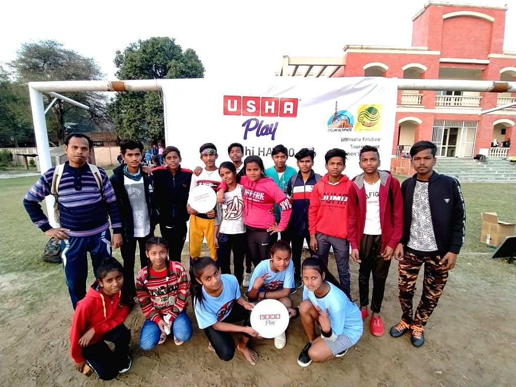Usha International sponsors the biggest Flying Disc Hat Tournament in Delhi NCR
