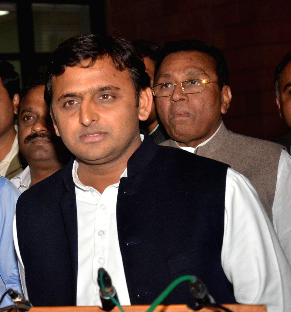 Uttar Pradesh Chief Minister Akhilesh Yadav. (File Photo: IANS) - Akhilesh Yadav