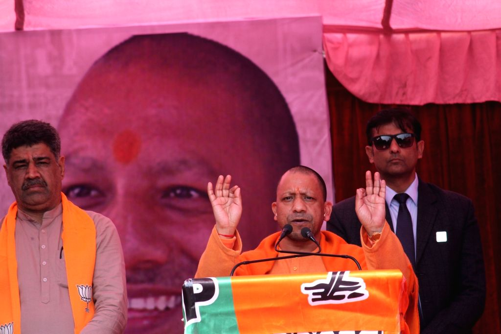 Uttar Pradesh Chief Minister Yogi Adityanath on Saturday announced that the state government will give Rs 1,000 to daily wagers as a help amid coronavirus scare.(Photo: IANS) - Yogi Adityanath