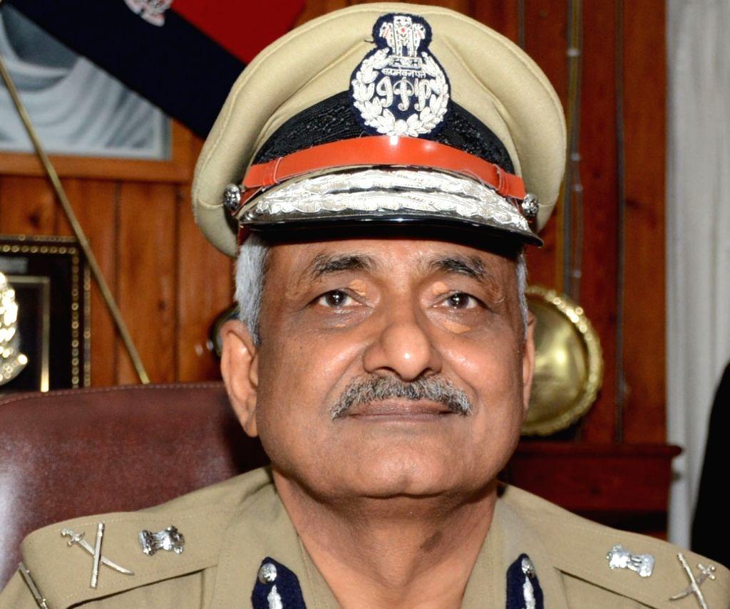Uttar Pradesh Director General of Police Sulkhan Singh - Sulkhan Singh