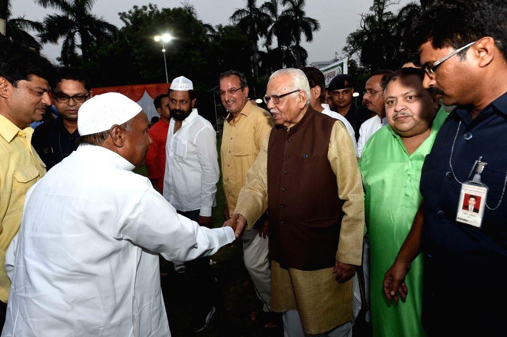 Uttar Pradesh Governor Ram Naik during an Iftaar party hosted at Raj Bhavan in Lucknow, on June 23, 2017.