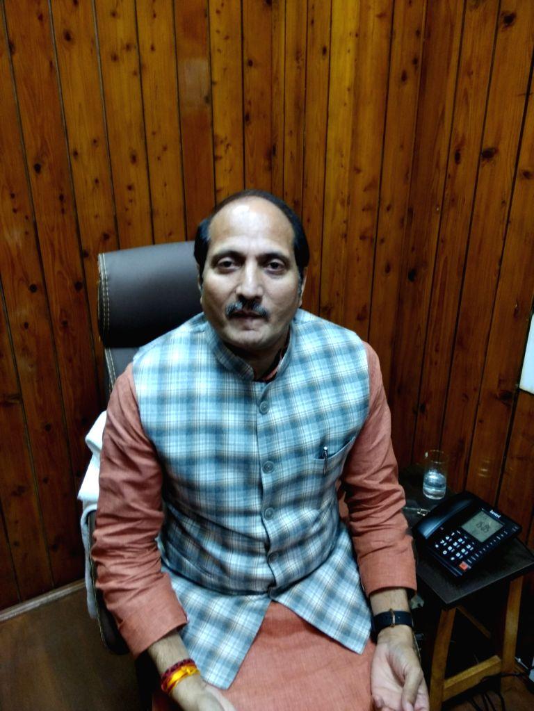 Uttar Pradesh Sugarcane Development Minister Suresh Kumar. - Suresh Kumar
