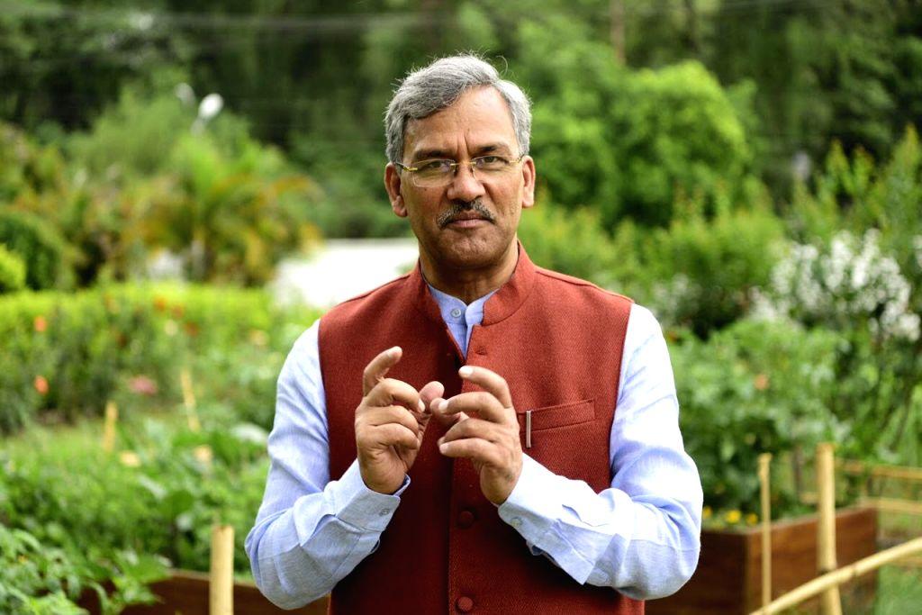 Uttarakhand Chief Minister Trivendra Singh Rawat. - Trivendra Singh Rawat