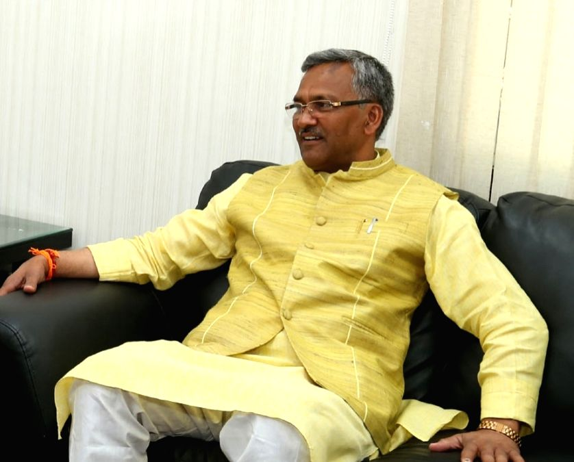 Uttarakhand Chief Minister Trivendra Singh Rawat. (File Photo: IANS) - Trivendra Singh Rawat
