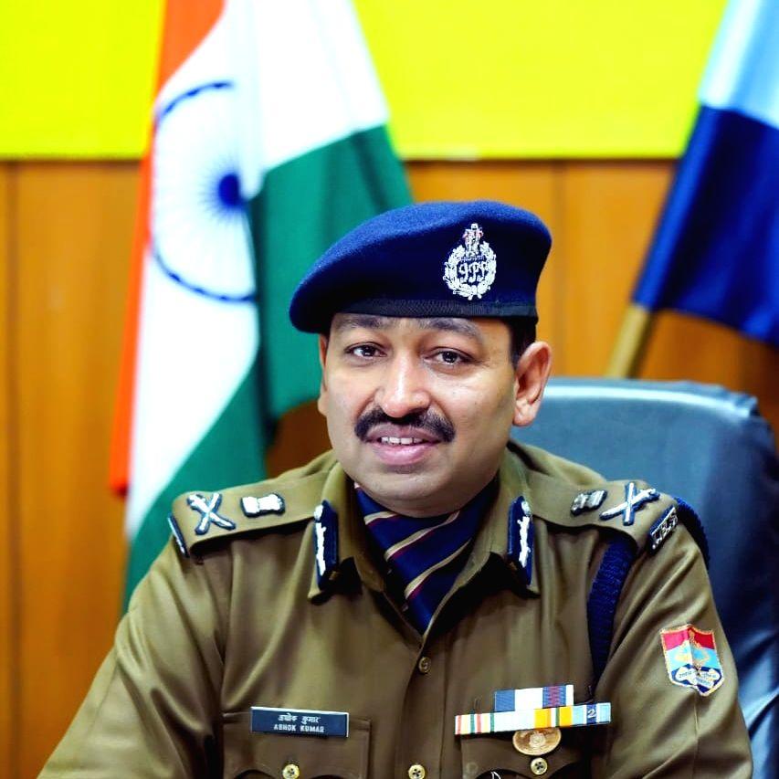 Uttarakhand Director General of Police (Law and Order) Ashok Kumar. - Ashok Kumar