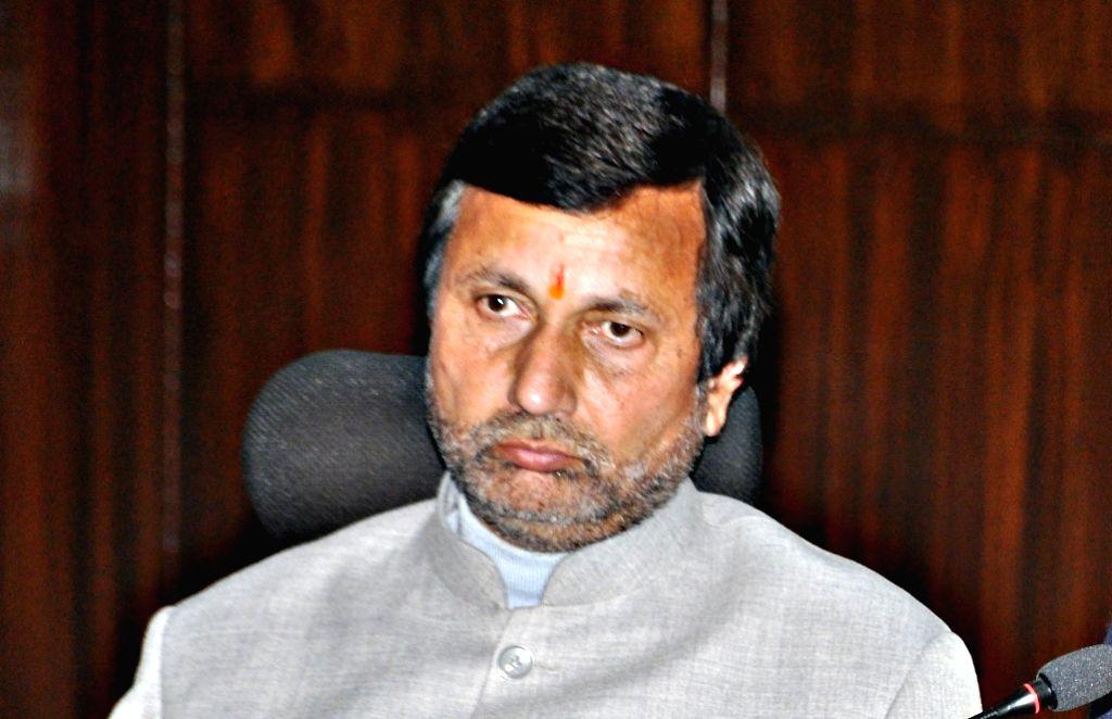 Uttarakhand Finance Minister Prakash Pant. (File Photo: IANS) - Prakash Pant