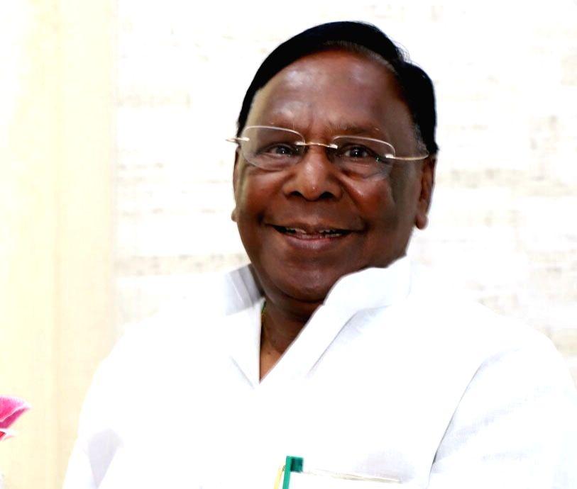 V Narayanasamy. (File Photo: IANS)