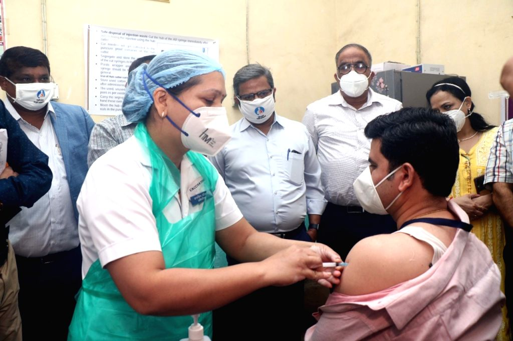 Vaccination programme started in the tribal dominated Palghar district of the state