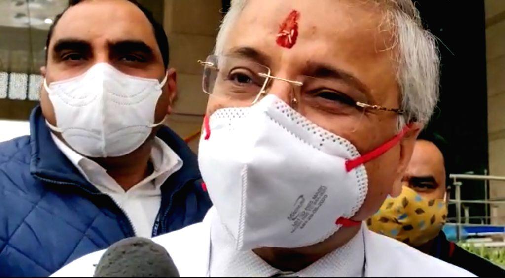 Vaccine won't kill you': AIIMS Director allays fears