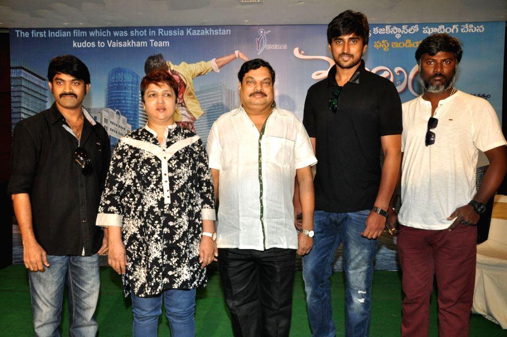 Vaishakham Movie Press Meet.